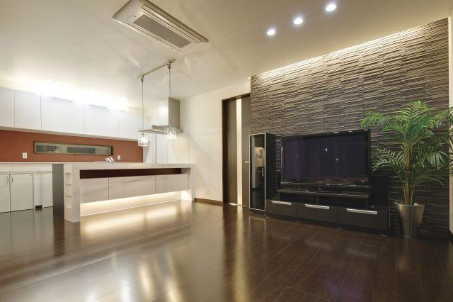 参考にしたいテレビの背面壁タイル施工例3選!