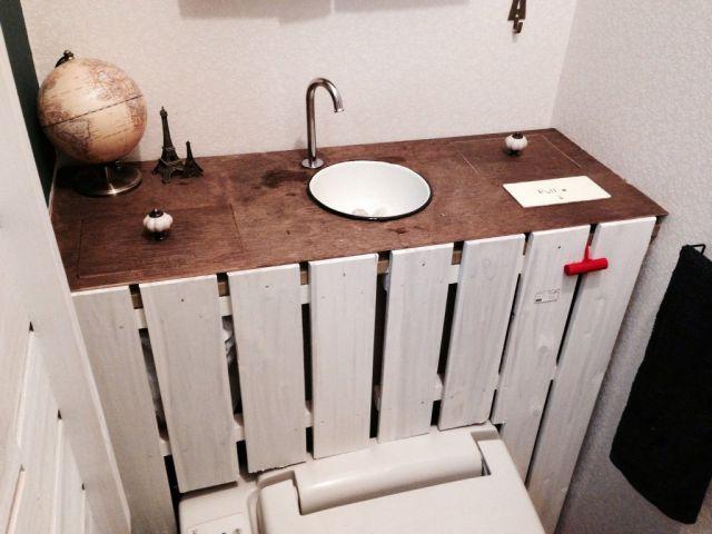 トイレのタンクをおしゃれに隠すDIYの実例5選!